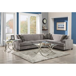Caswell Sleeper Sectional  sc 1 st  Wayfair : grey sectional - Sectionals, Sofas & Couches