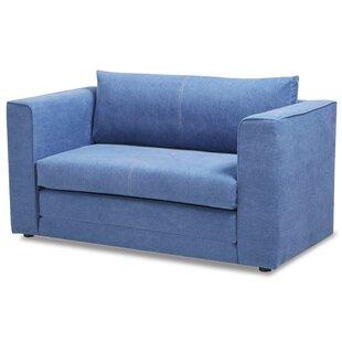 Merveilleux Sky Blue Sofa | Wayfair