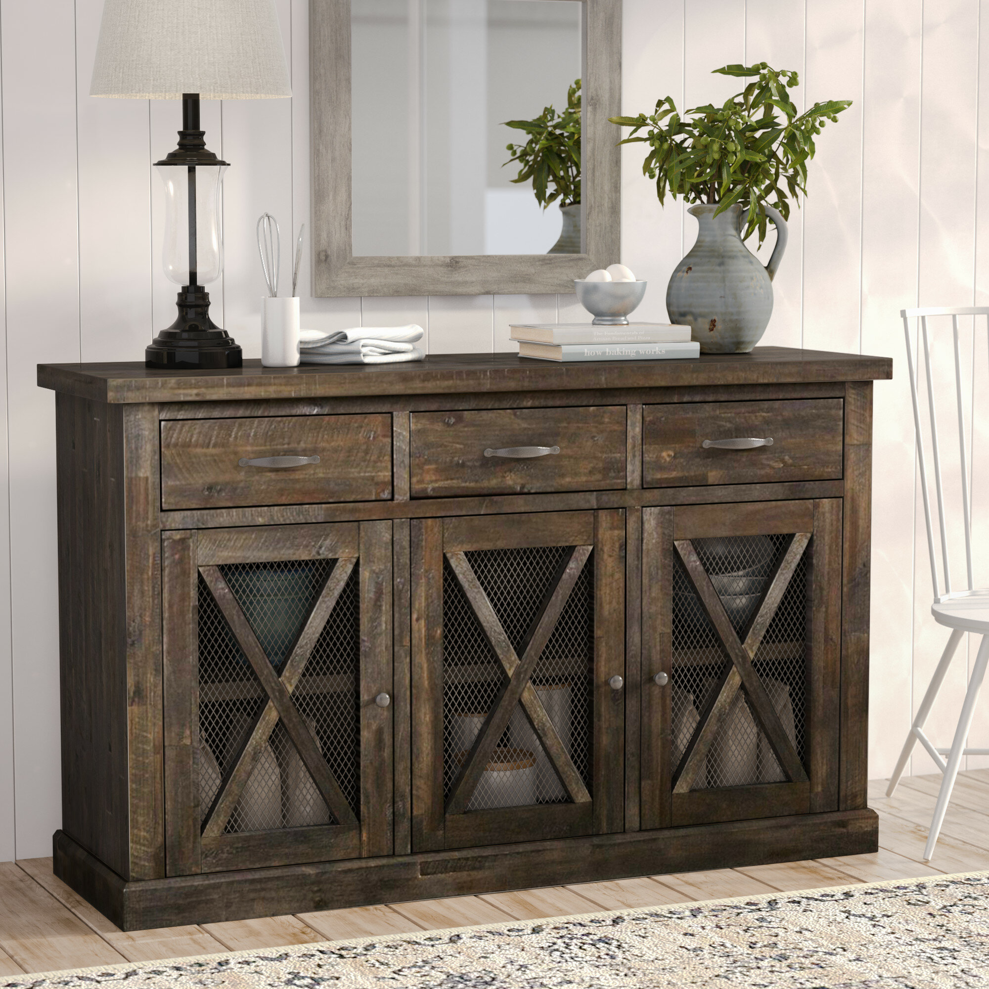 lifestyle ivesibas itm scandinavian ivelo apartment furniture rack with buffet table sideboard ash wooden wine