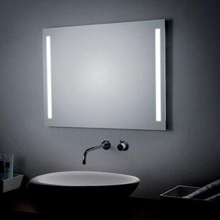 Led lighted bathroom mirrors wayfair led lighted wall bathroom mirror aloadofball Image collections