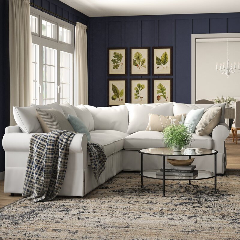 Jameson Upholstered L Shaped Sectional