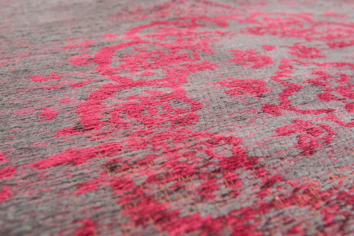 louis de poortere teppich fading world in grau rosa bewertungen. Black Bedroom Furniture Sets. Home Design Ideas