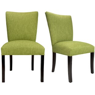Julia Key Largo Spring Seating Double Dow Upholstered Side Chair (Set of 2)