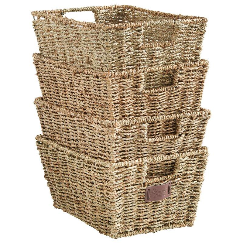 Exceptional Seagrass Storage Basket