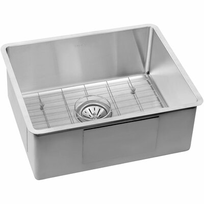 "Undermount Kitchen Single Sink elkay crosstown 22.5"" x 18.5"" stainless steel single bowl"