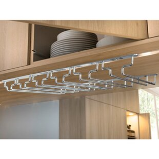 Under Cabinet Wine Glass Rack Wayfair