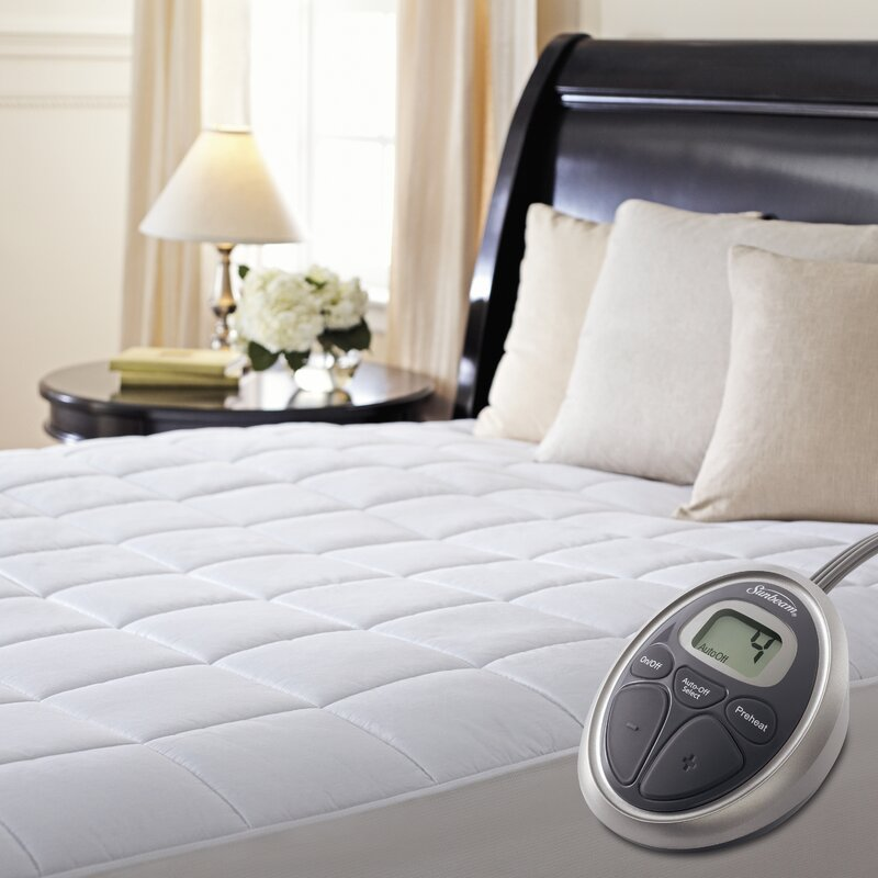 mattress grip pad. pmp heated mattress pad grip