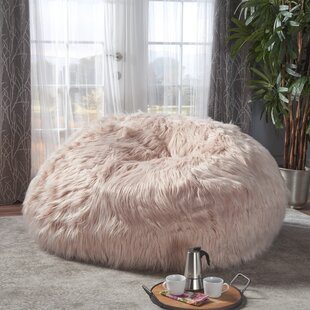 Faux Fur Bean Bag Chair  d5997552189a6