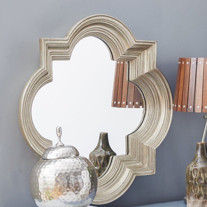 Cairo Platinum Gold Decorative Wall Mirror
