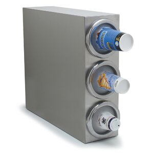 Cabinet With 3 Cup Dispenser