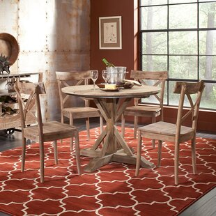 Dupre Wood Solid Wood Dining Table