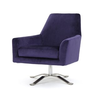 Purple Swivel Chairs | Wayfair