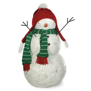 Snowman Frank Figurine
