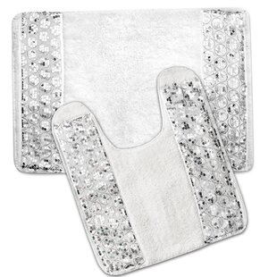 4 Piece Bathroom Rug Set