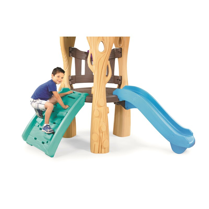 Little Tikes Tree House Swing Set & Reviews | Wayfair on treehouse with zipline, treehouse blueprints, extreme wood playset plans, treehouse shed plans, diy treehouse plans, treehouse ladder plans, treehouse playgrounds, play set plans, playhouse plans, small yard fort plans, treehouse with tire swing, treehouse platform, treehouse tabs, homemade swing plans,