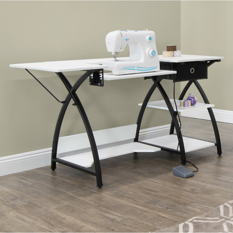 Sew Ready Comet Sewing Table Amp Reviews Wayfair