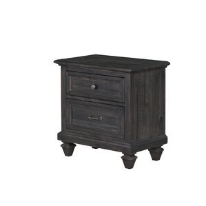 Delpha 2 Drawer Nightstand by August Grove