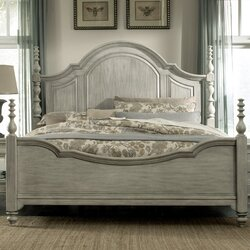 Chelmscote Four poster BedDarby Home Co Chelmscote Panel Customizable Bedroom Set   Reviews  . Four Poster Bedroom Sets. Home Design Ideas