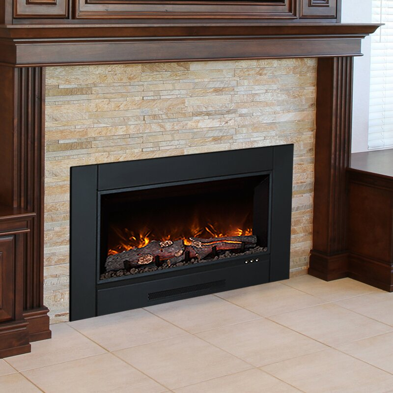 Modern flames zcr series electric fireplace insert reviews wayfair zcr series electric fireplace insert solutioingenieria Image collections