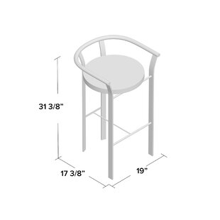 Crissom 26.5 Bar Stool