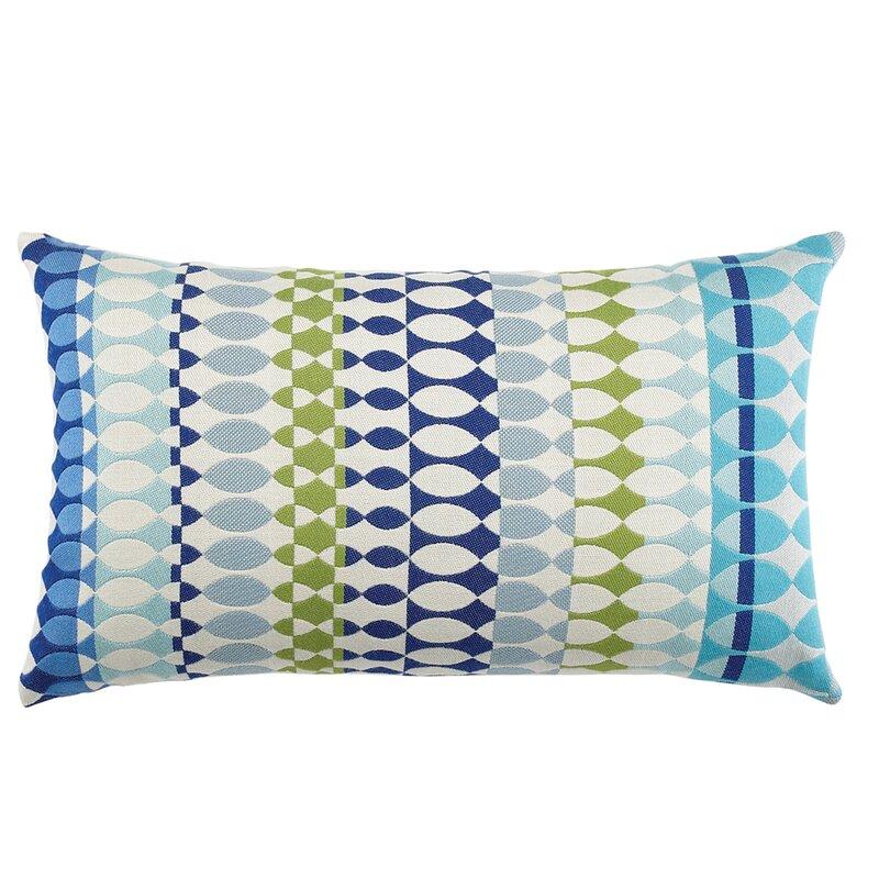ElaineSmith Modern Oval Ocean Outdoor Lumbar Pillow Perigold