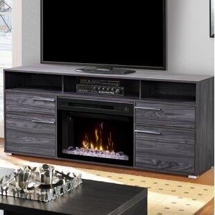 Acrylic Ice Fireplace Tv Stand Wayfair