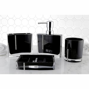 Jina 4-Piece Bathroom Accessory Set