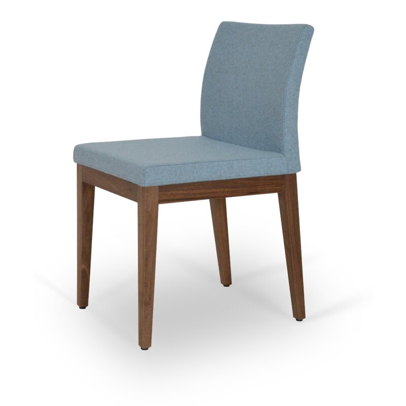Aria Wood Upholstered Dining Chair