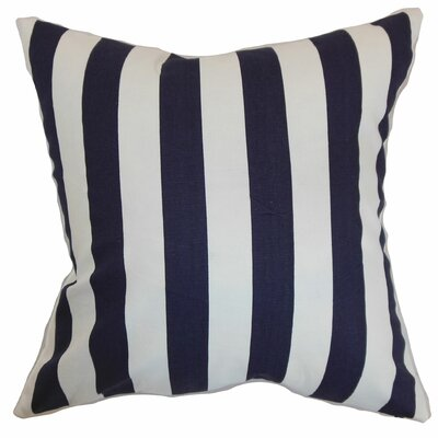 Birch Lane™ Heritage Knotts Indoor/Outdoor 100% Cotton Throw Pillow Color: Blue, Size: 20 H x 20 W