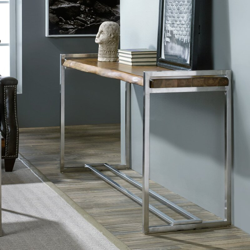 Exceptional Live Edge Console Table
