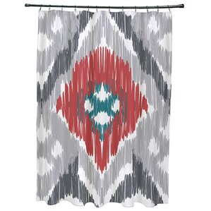 Gray & Silver Shower Curtains You\'ll Love | Wayfair