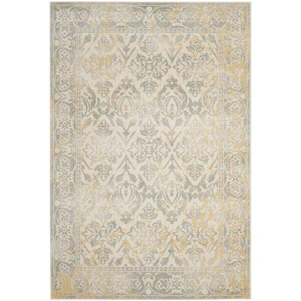Lark manor montelimar ivory grey area rug reviews wayfair - Boutique orange montelimar ...