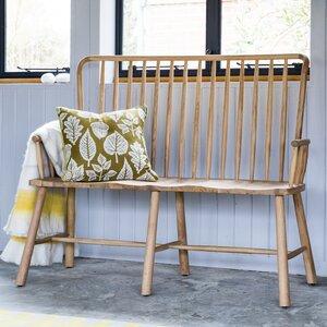 Sitzbank Lorrain aus Holz von Laurel Foundry