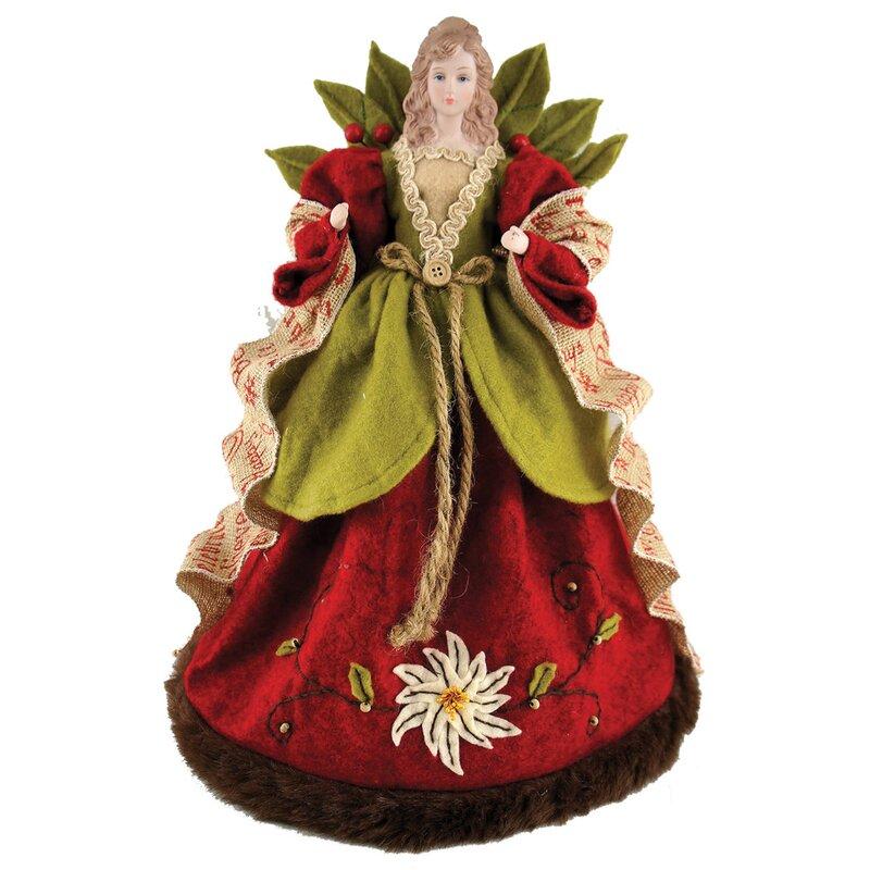 Small Angel Christmas Tree Topper: August Grove Folk Art Angel Tree Topper & Reviews