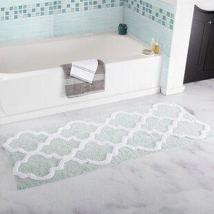 Green Bath Rugs & Mats You\'ll Love | Wayfair