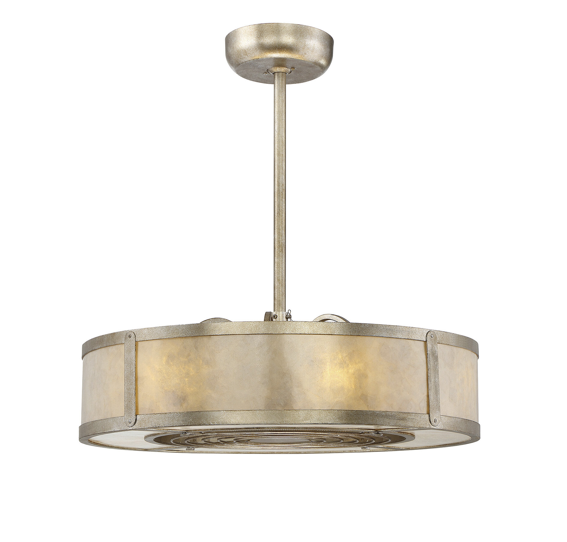 17 Stories 26 Ellzey Air Ionizing Ceiling Fan D Lier With Remote Reviews Wayfair
