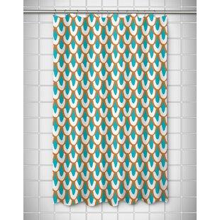 Fye Mermaid Scales Shower Curtain