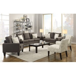 Configurable Living Room Set Modern  Contemporary Sets You ll Love Wayfair