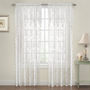 Lace Curtains Drapes You Ll Love Wayfair