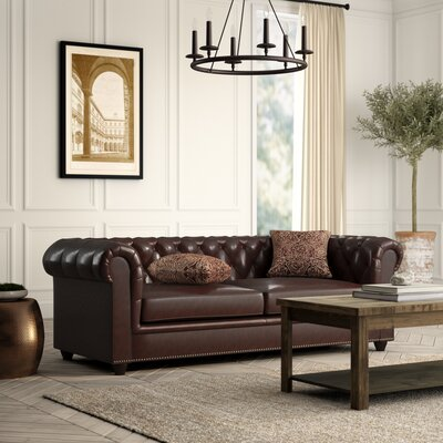 Chesterfield Leather Sofas You Ll Love In 2019 Wayfair