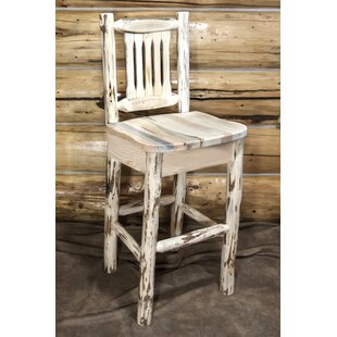 Tustin 30 Clear Lacquer Bar Stool