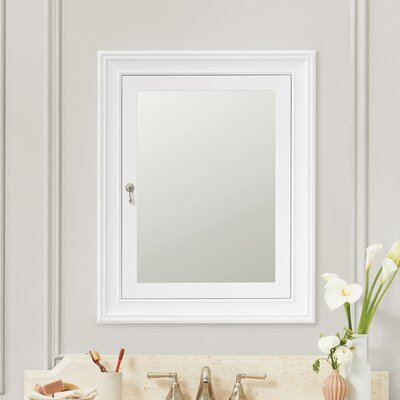 Find The Perfect Recessed White Medicine Cabinets Wayfair