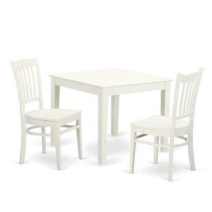 Hillhouse 3 Piece Dining Set