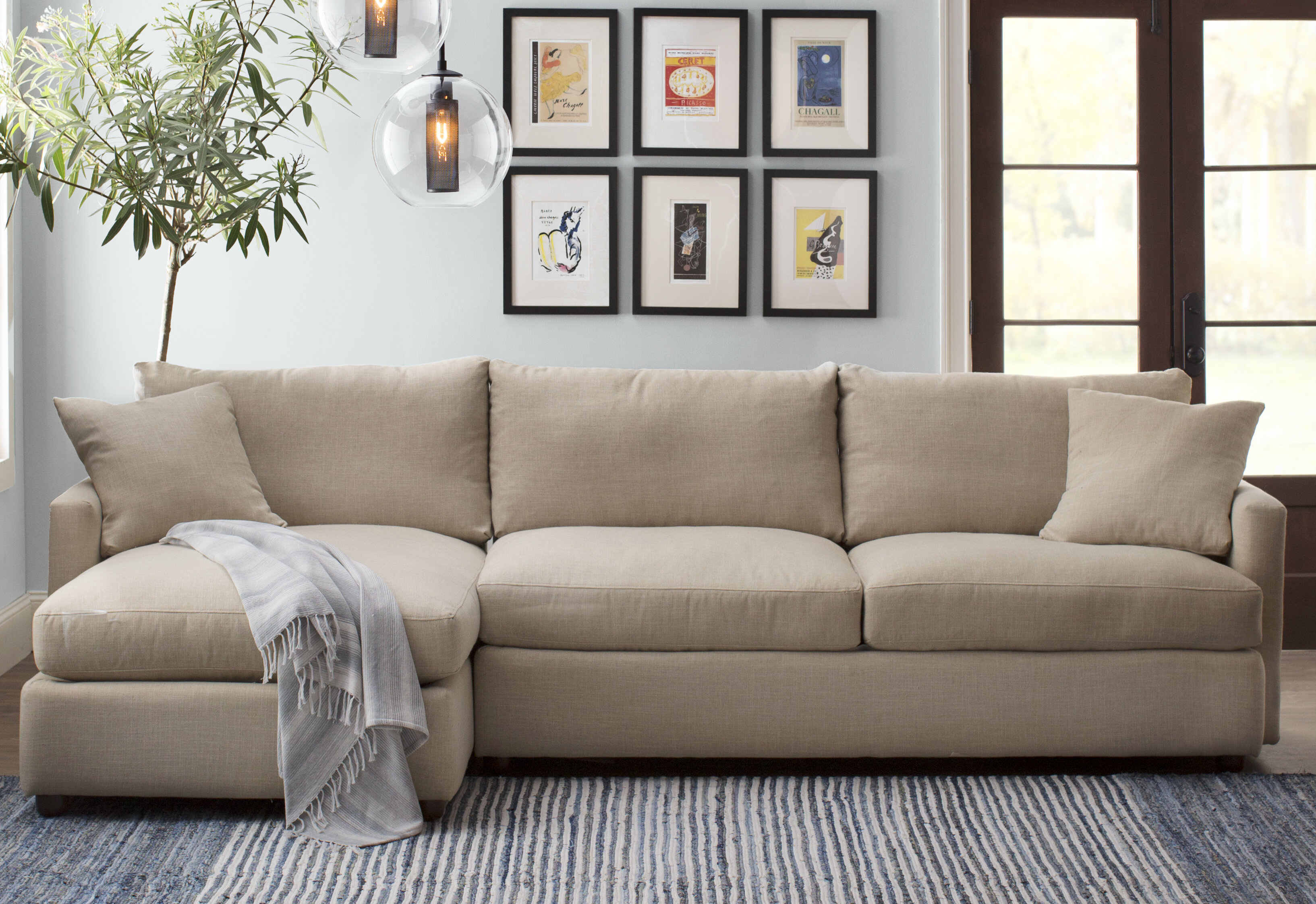 Cozy Sectional Wayfair