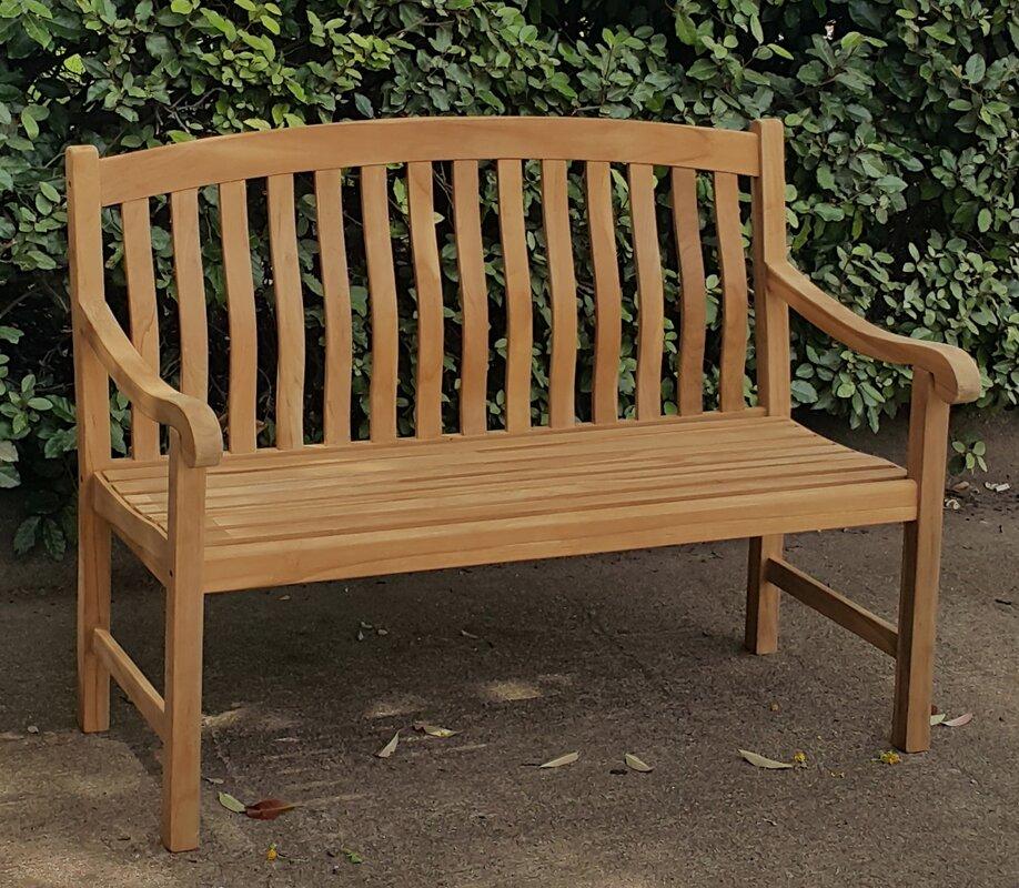 Crestwood Seymour Teak Garden Bench Reviews