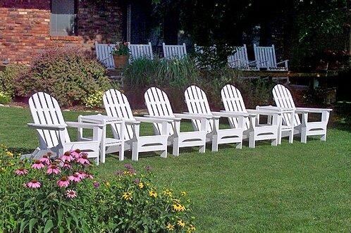 Classic Plastic Folding Adirondack Chair