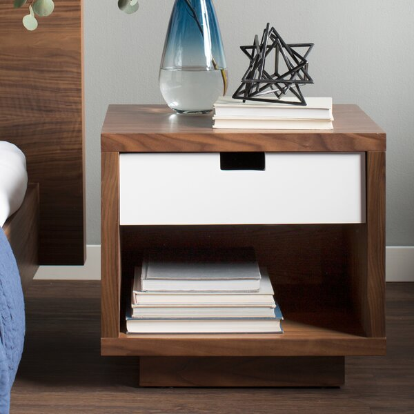 gus modern wilson end table with storage