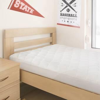 Alwyn Home Gerow College Dorm Extra-Long Twin Mattress Pad