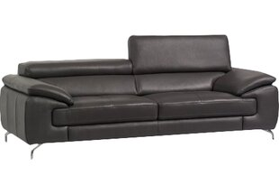 Modern & Contemporary Leather Sofas With Chrome Legs | AllModern