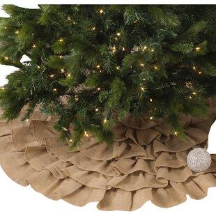 small christmas tree skirt wayfair